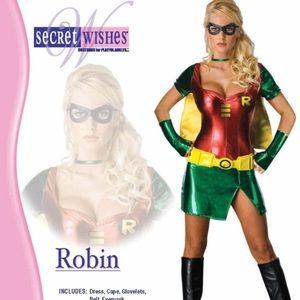 DC comics Robin women's Halloween adult costume Size XS
